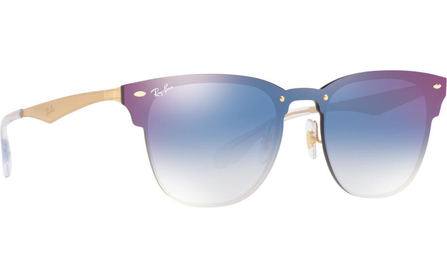 d6cf0f82a5b Ray-Ban Blaze Clubmaster RB3576N 043 X0 41 Sunglasses - Free Shipping