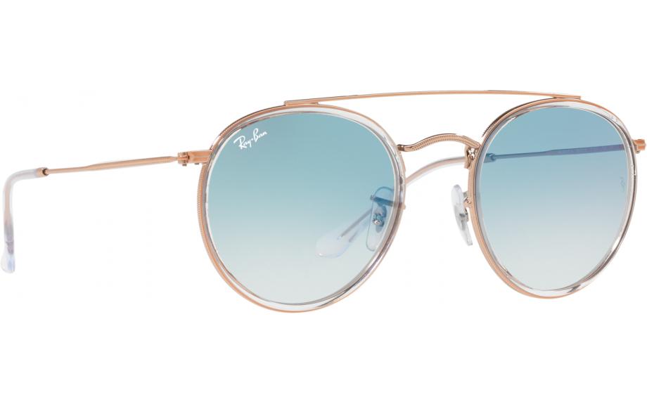 8dcd785aa4b Ray-Ban Round Double Bridge Sunglasses