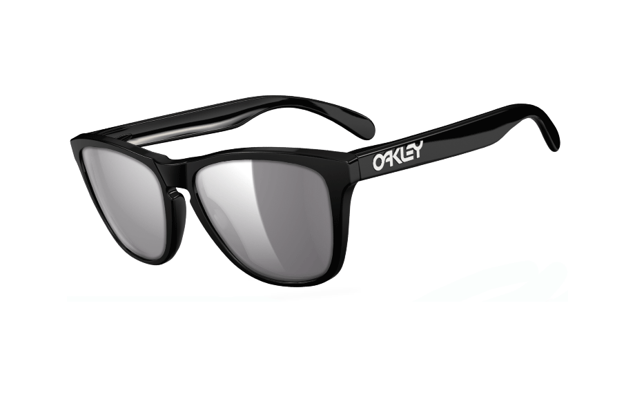 8177ca7671f74 Oakley Frogskins Polished Black 24-306 - Free Shipping